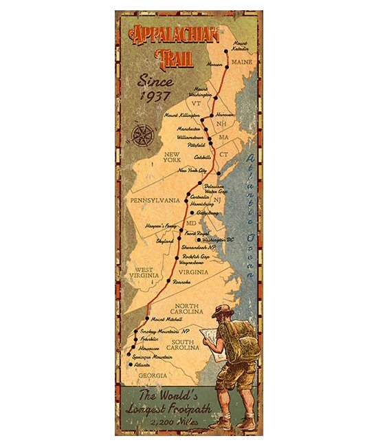 custom-appalachian-trail-map-vintage-style-wooden-sign-2
